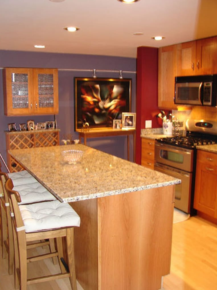 Food splatters? With the right paint that's no problem!  - Home Remodeling In Chicago