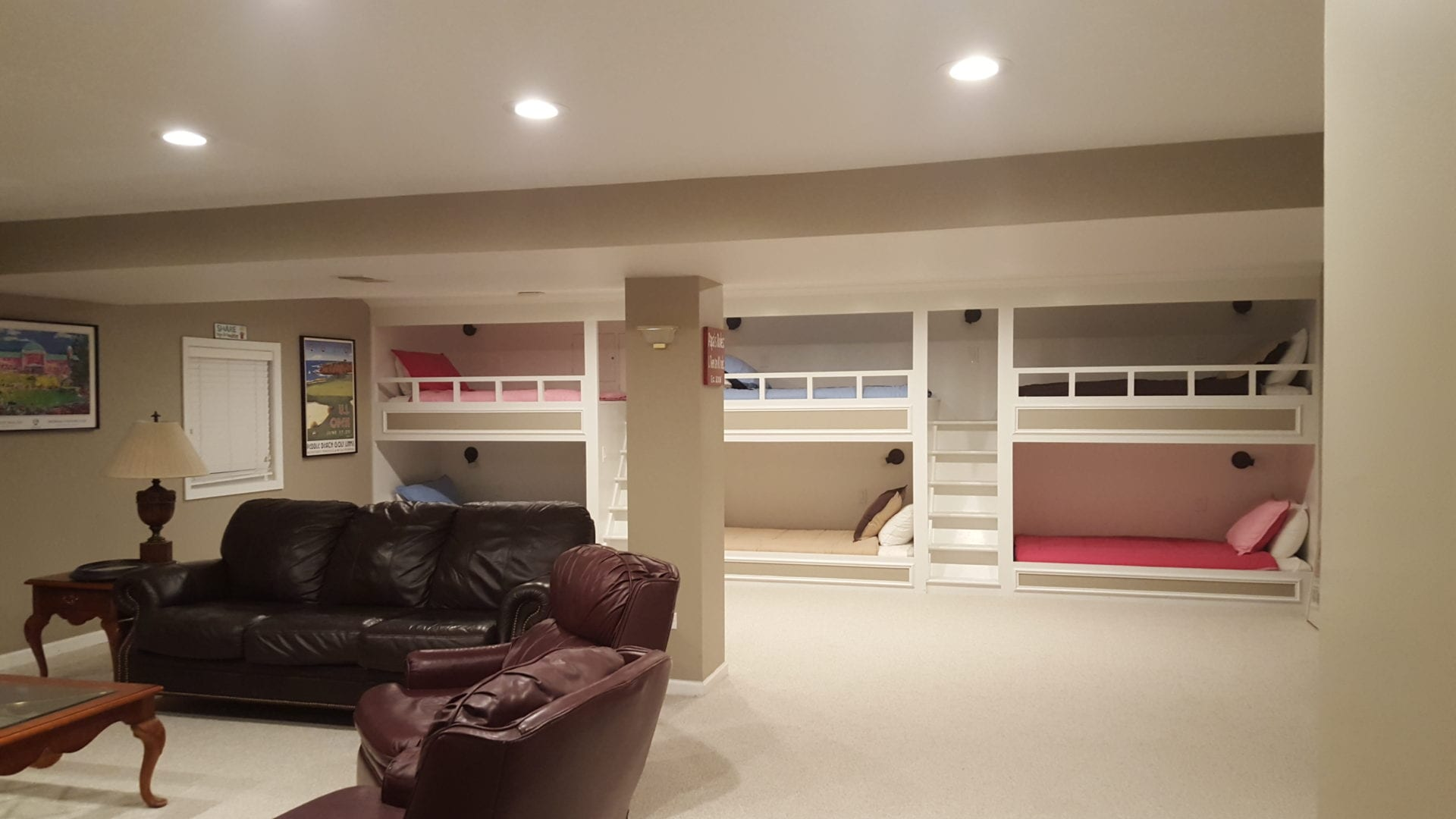 Image of a basement remodel   - Basement Remodeling In Chicago